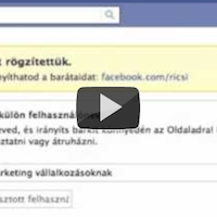 Saját webcím facebook oldalakhoz