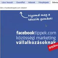 Facebook egyedi megjelenés FBML oldallal