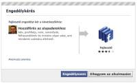 Iframe alapú egyedi oldal telepítése Facebook oldalakra: fejlesztői hozzáférés engedélyezése
