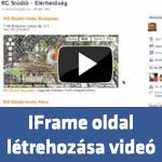 Iframe oldal létrehozása Facebookon
