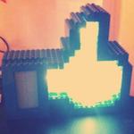 Tetszik gomb megnyomásáról értesítő lámpa