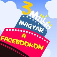 Több, mint 3 millió magyar regisztrált már a Facebookra