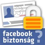 Facebook adatbiztonsági ikon