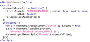 HTML kódrészlet IFrame alkalmazáshoz
