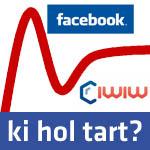 Hol tart az Iwiw és hol a Facebook?