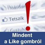 Facebook Like gomb