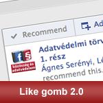 Facebook ajánló sáv: Like gomb 2.0