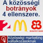 Közösségi botrányok: tv2, nescafe, McDonalds, Budapest Bank