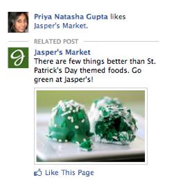 A szponzorált sztori típusú Facebook hirdetés így jelenik meg a Facebookon