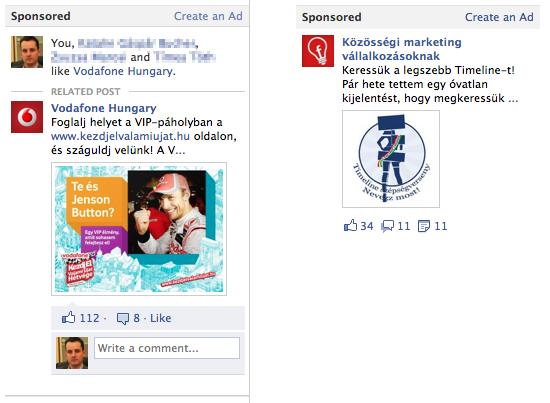 Facebook hirdetési megoldások