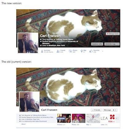 Új Facebook Timeline?