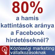 A Facebook hirdetések 80%-át robotok kattintják le?