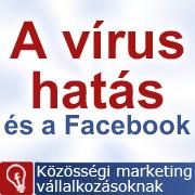 Vírus hatás és a FAcebook