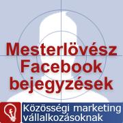 Facebook rajongók célzása bejegyzéssel