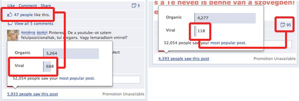 A megosztásnál többet ér a like, ha a virális terjedés a cél. De persze ez nem minden...