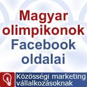 Magyar olimpikonok Facebook oldalai