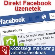 Direkt marketing a Facebookon