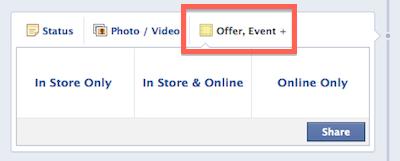 Facebook ajánlat első lépés