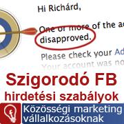 Szigorították a Facebook hirdetések szabályait