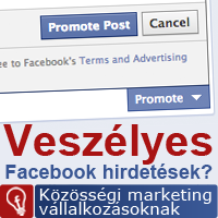 Veszélyes Facebook hirdetések