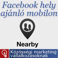 Új funkciókkal bővül a Facebook Nearby