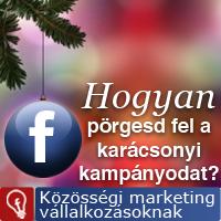 Karácsonyi akciókról a Facebookon