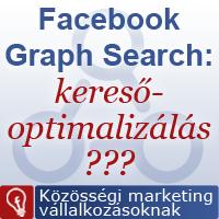 Facebook Graph Search keresőoptimalizálás