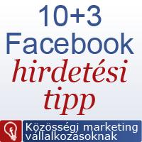 Facebook hirdetési tippek