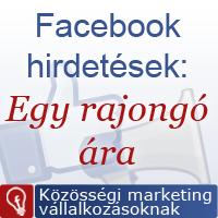 Rajongó gyűjtés Facebook hirdetéssel