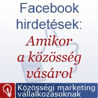 Facebook hirdetések és a vásárlás