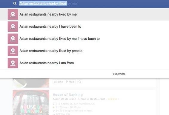 Keresőoptimalizálás: Facebook Graph Search