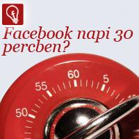 Facebook kommunikáció napi 30-ben