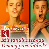 Disney paródia videó: két hét alatt 6 millió lejátszás. Nem is rossz egy 20 éves sráctól...