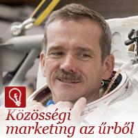 Közösségi marketing az űrből