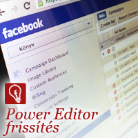 Power Editor firssítés