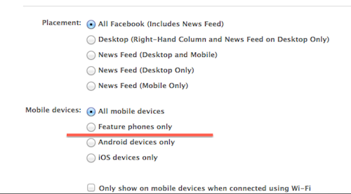 A Power Editorban kizárhatod vagy éppen megcélozhatod a különböző mobil felhasználókat