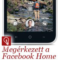 A Facebook világuralomra tör egy trójai faló segítségével. Ez a Facebook Home