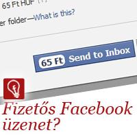 Fizetős lesz a Facebook üzenet küldés?