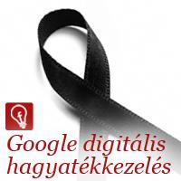 A Google inaktív kezelője az online adatok halál utáni kezelésében segít.