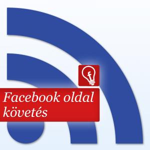 Facebook oldal follow