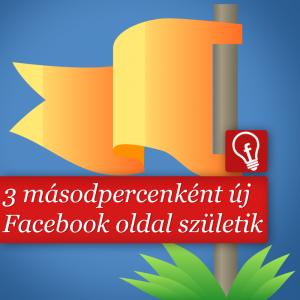 18 millió Facebook oldal 2013 júliusban