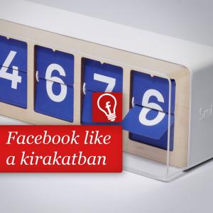 A Facebook oldalak lájkjai egy fizikai üzletben is megjelenhetnek egy startup-nak köszönhetően