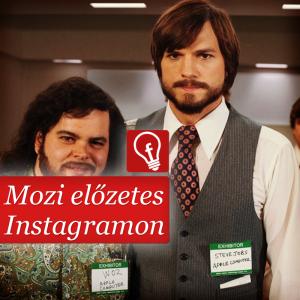 A Steve Jobs film előzetes Instagramon