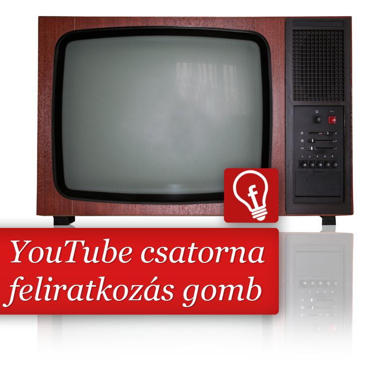 A weboldalba illeszthető feliratkozás gomb a YouTube csatornákhoz is megérkezett