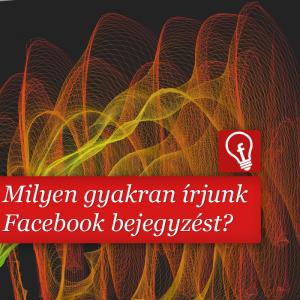 Milyen gyakran írjunk Facebook bejegyzést?