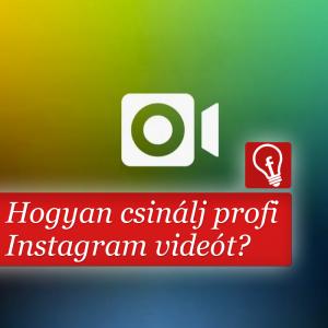 Az Instagram import funkciójával professzionálist megközelítő videót készíthetünk akár a telefonunkkal is.