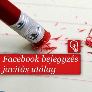 Már nem csak a képek leírását tudjuk javítani utólag a Facebookon