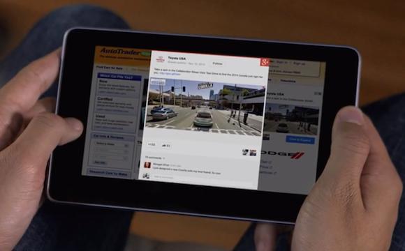A +Post hirdetés segítségével Google+ hírfolyam lesz a teljes internet