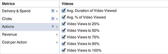 A videó statisztikai adataival a hirdetések jelentéskészítője is bővüla