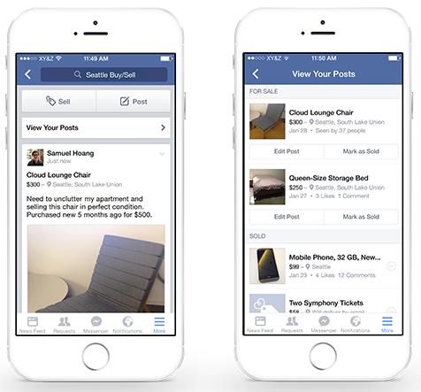 Az értékesítő poszt más formátumban jelenik meg, plusz külön kezelik a Facebook azokat a bejegyzéseket a csoportban, amik már nem aktuálisak